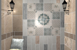 Several my works in the Kerama Marazzi