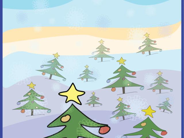 Счастливых зимних праздников!